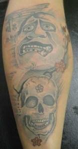 beast designs vs skull tattoos