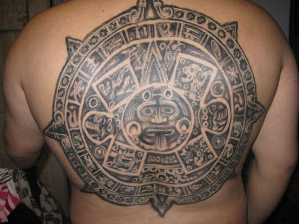tattoo designs girls – back tattoos with aztec tattoos