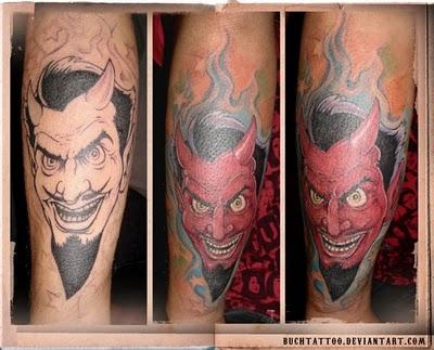 fire devil tattoo designs best tattoo style. Black Bedroom Furniture Sets. Home Design Ideas