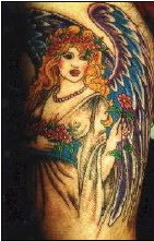 angels tattoos design