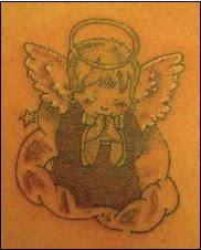 angels tattoos design