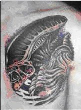 aliens tattoos design
