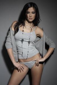 Young Italian Beautiful Model Giorgia Palmas