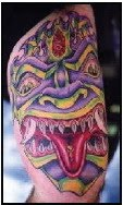 monsters tattoos design