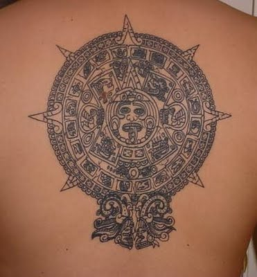Nice collection of top notch quality Aztec tattoo artwork designs