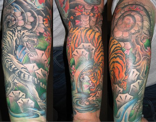 Forearm Sleeve Tattoos