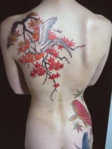 Cool Japanese Tattoo Design