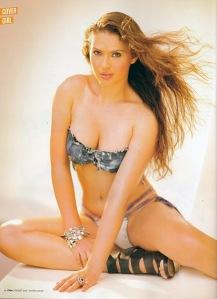 Gambar sexy Priscilla Meirelles di Majalah FHM Philipina