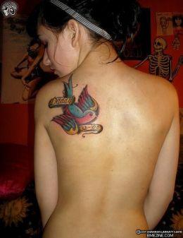Love Tattoo on My New Skull Dragon Tattoo Back Tattoo  My Love 2